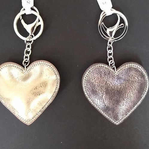 Padded Heart Handbag Charms