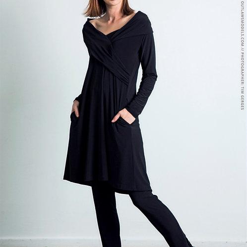 Jenny Crossover Dress by Habits
