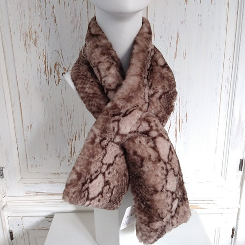 Feux Fur Slip Through Scarf.