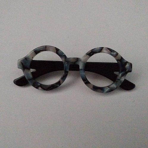Mini Resin Specs Brooch