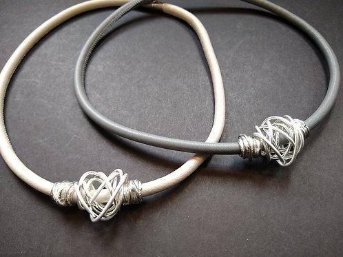 Strata Wire Necklaces