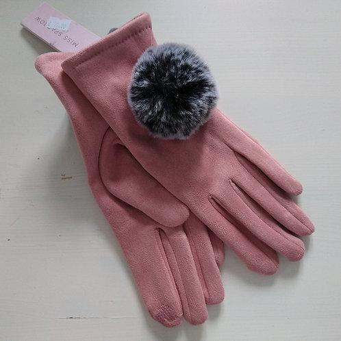 Miss Sparrow Pom Pom Gloves