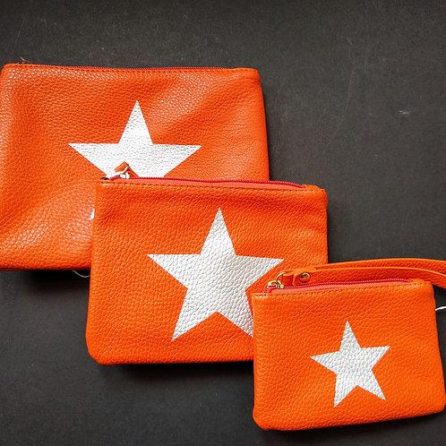 Orange Star bags