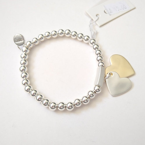 Envy Double Heart Bracelet