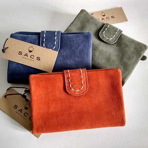 Superb Suede Wallet by Sacs