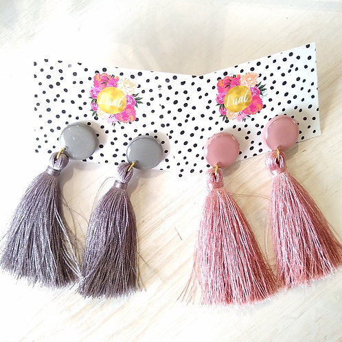 Luel Tassel Earrings