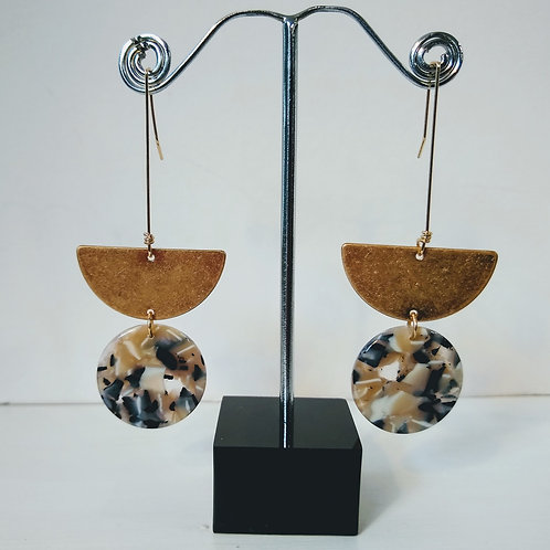 Earrings by Isles and Stars