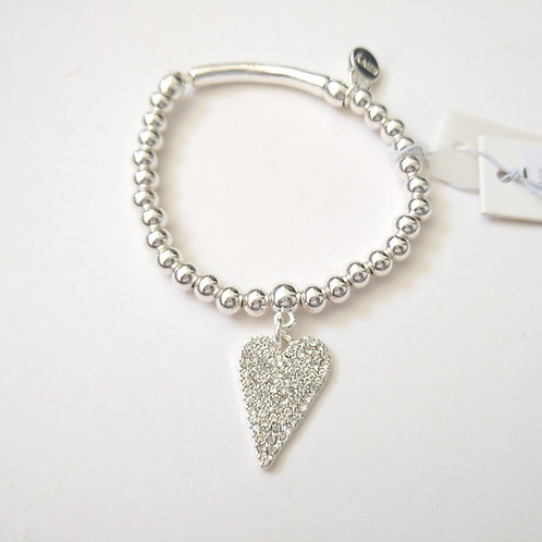Envy Crystal Heart Bracelet