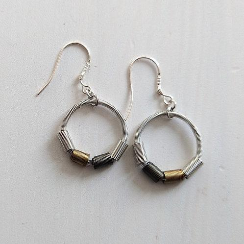 Etnika Coil Hoop Earrings