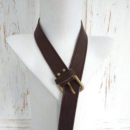 Brown Soft Leather Belt