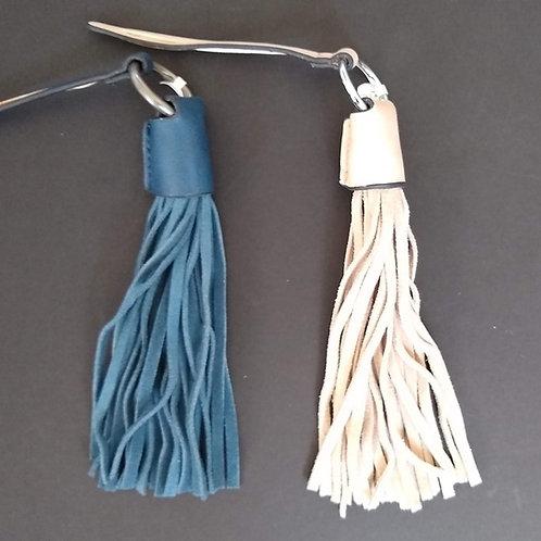 Tassel Bag Charm Key Rings
