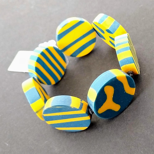 Elasticated Resin Bracelets