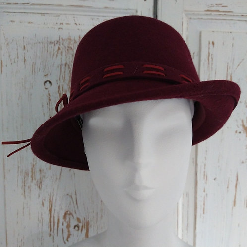 40's Style Dipped Sided Hat