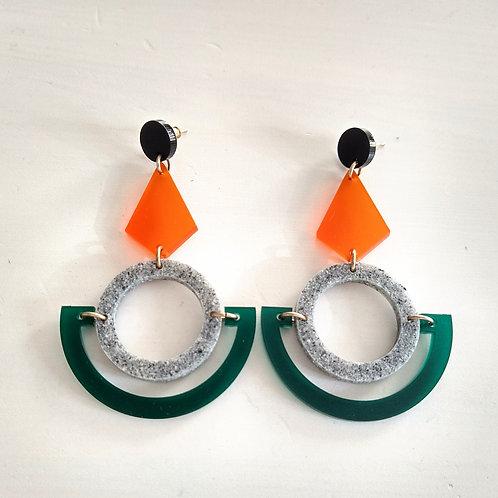 Toolally Large Boatman Earrings