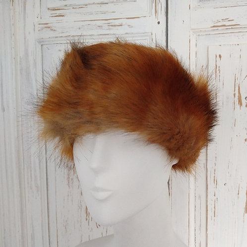 Feux Fur Red Fox Headband