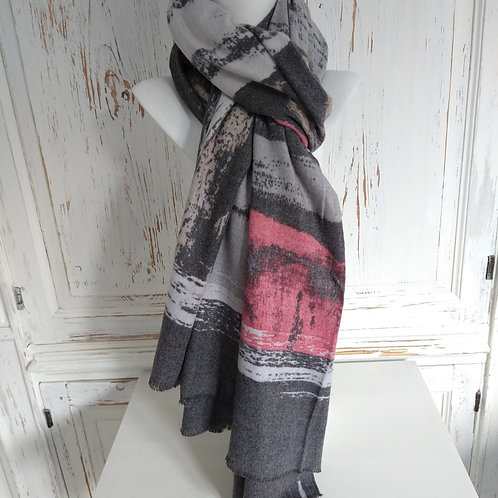 Hot Tomato Luxury Winter Scarf