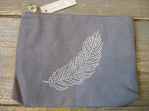 Feather Canvas Bag.