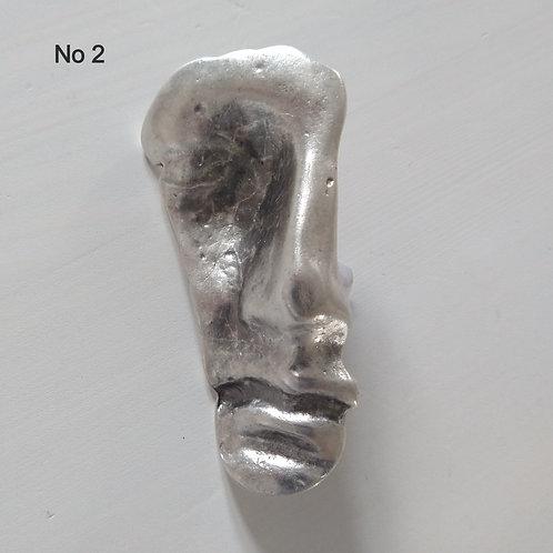 Hatti Metal Brooch No 2