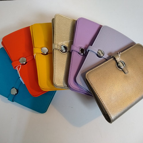 PU Travel Wallet, Purse and Clutch.