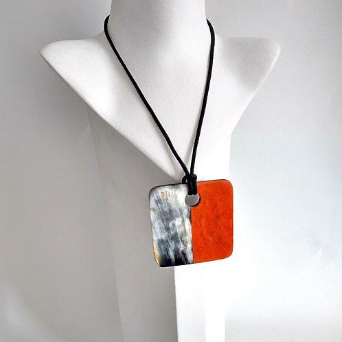 Felt & Bone Adjustable Necklace