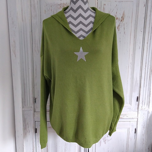 Soft Knit Star Hoodie