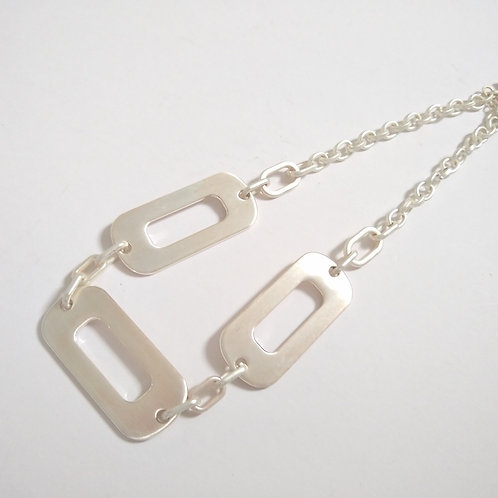 Envy Chain Link Silver Necklace