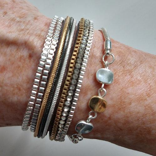 Multi Strand Detailed Bracelet