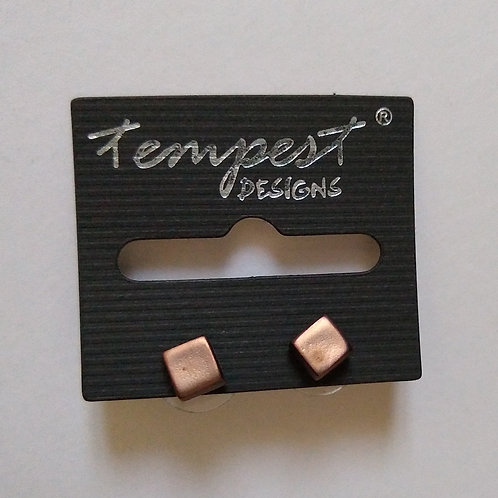 Small Block Bronze Studs