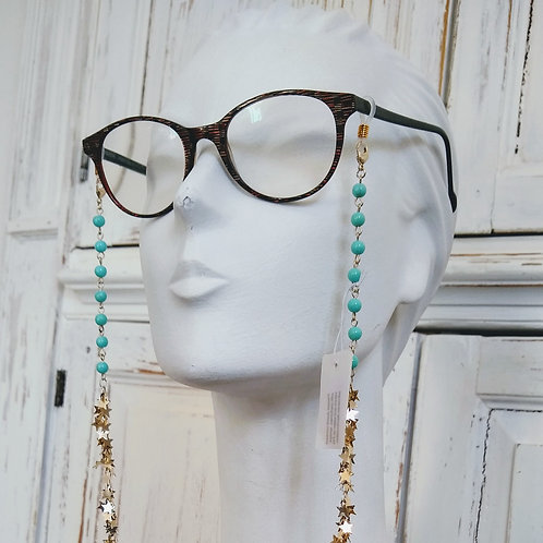 Glasses chain and necklace........