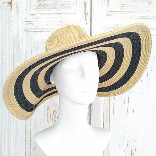 Large Stripe Malene Birger Hat