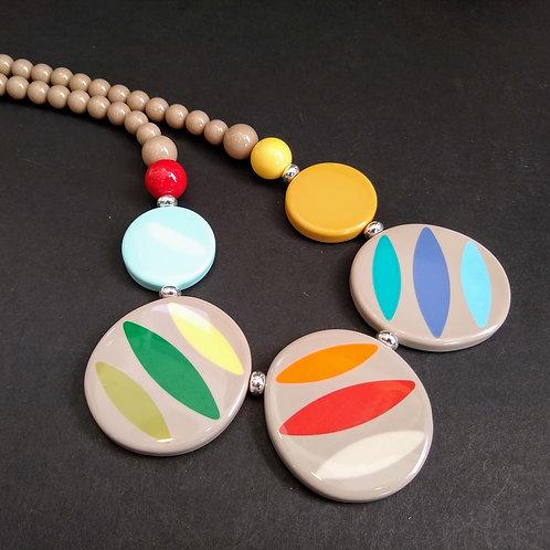 JCUK Solid Splash short necklace