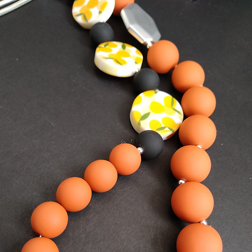 JCUK Sienna Bead Necklace