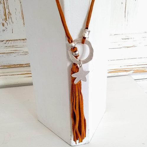 Hatti Loop Through Star Necklace