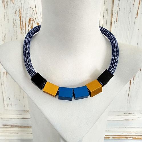 Christina Brampti Chunk Necklace