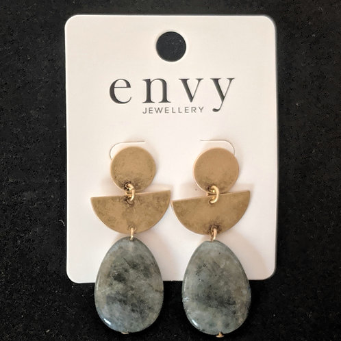Envy Stone mix earrings