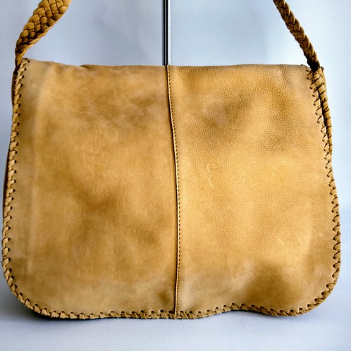 Sacs Suede Shoulder Bag