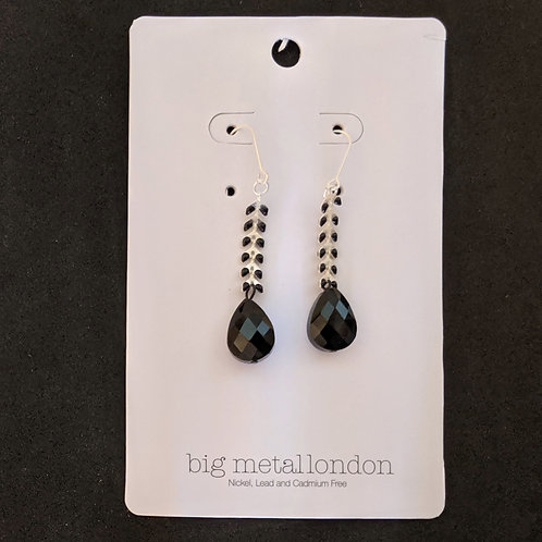 Hortense Earrings by big metal london