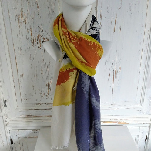 Strong Paint Splash Mix Scarf