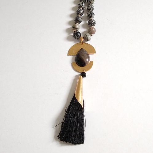 Oriental Tassel Necklace