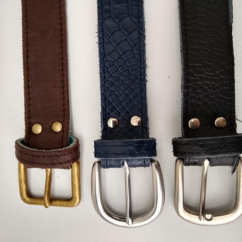 Dark Colour Leather Belts
