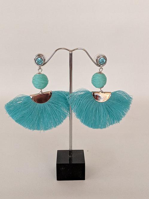 Envy Tassel Fan Earrings