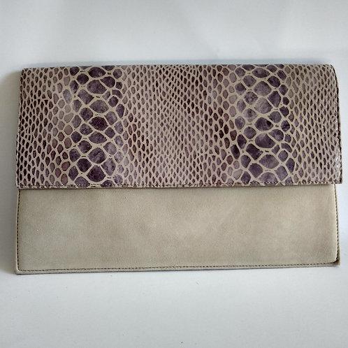 Sacs Detailed Leather Clutch Bag