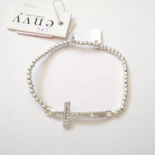 Envy Delicate Cross Bracelet
