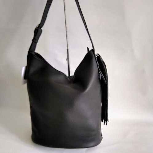 PU Tote Bag with Tassel.