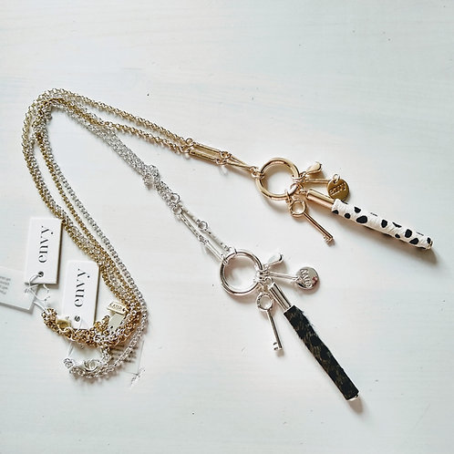 Envy Super Charm Long Necklace