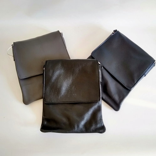 Leather Mini Messenger Bag