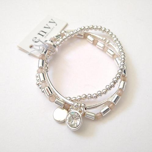 Envy 3 stand charm Bracelet