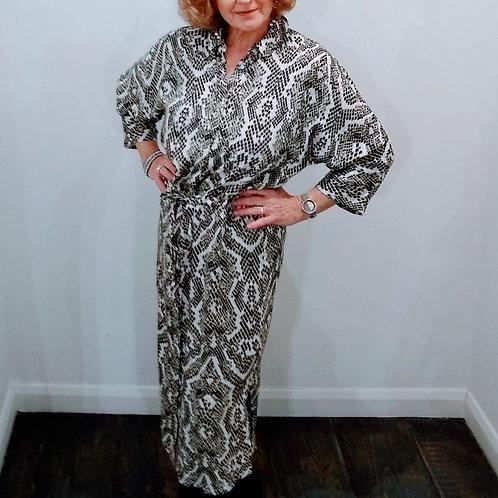 Patterned Shirt Dress Elsa Soya Concept size 14