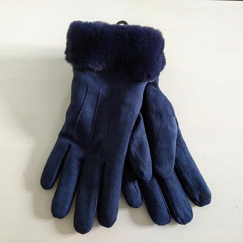 Miss Sparrow Fleece Lined Cuff Gloves