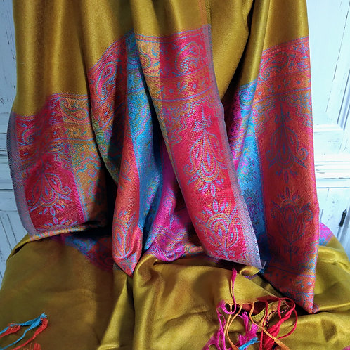 Luxury Patterned Scarves